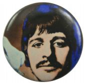 The Beatles - 'Ringo Drawing' Button Badge